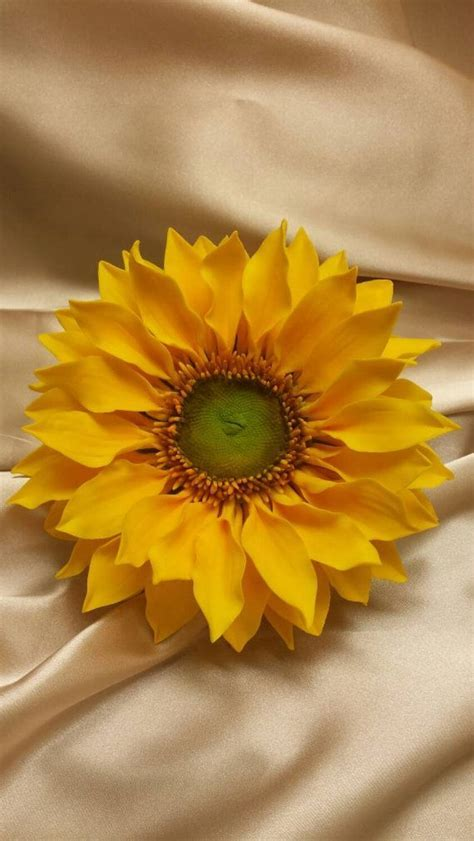Sunflower Sugar flower for Wedding Cake topper, Bridal