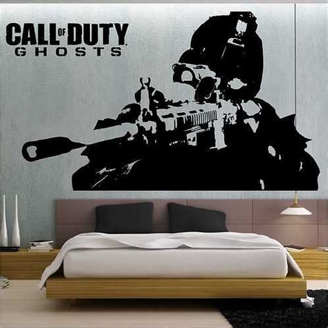 call of duty bedroom theme call of duty ghosts wall stickers wall transfer vinyl