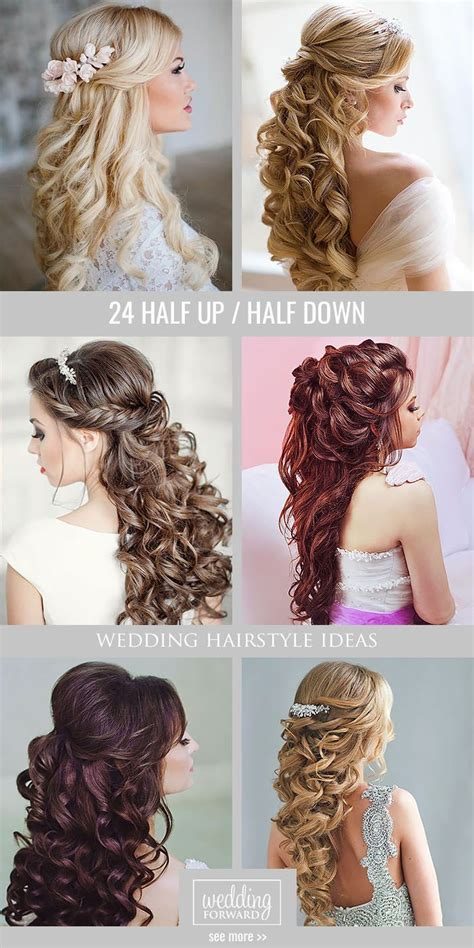 Wedding Hairstyles Curly Hair Half Up by 17 Best Images About Hairstyles For Hair On