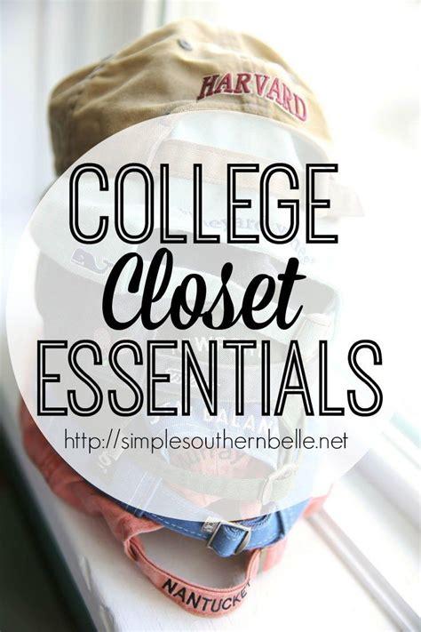 College Closet Essentials by 25 B 228 Sta College Closet Id 233 Erna P 229 Studenthem