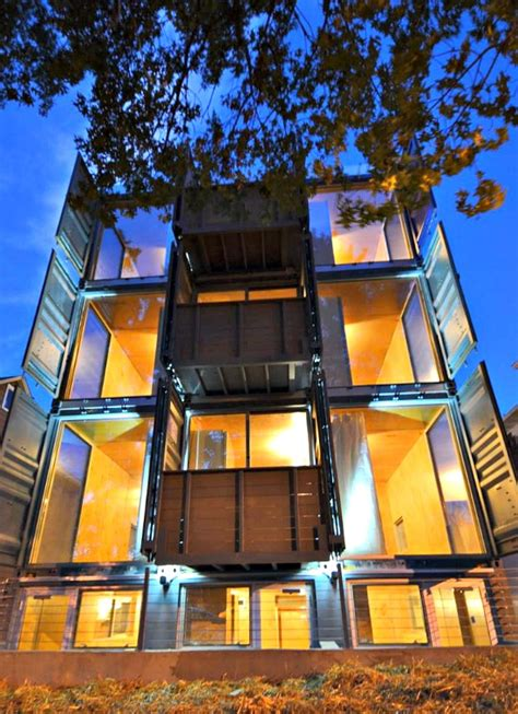 Post Apartment Homes Dc 20 Truly Homes Made From Shipping Container By