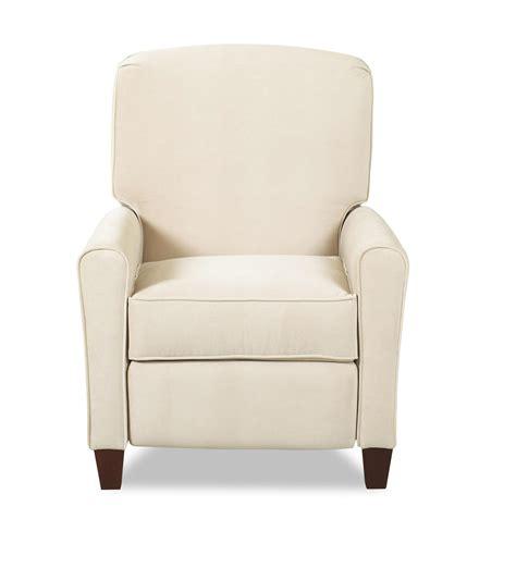 high leg recliner chairs klaussner hybrid high leg reclining chair olinde s
