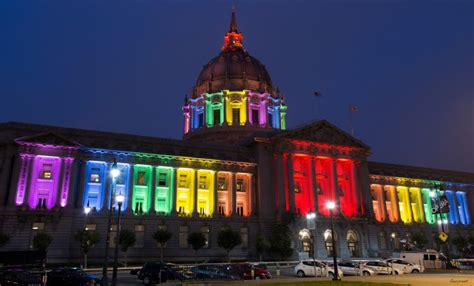 sf city hall lights this week in noe valley it s pride week and a few other