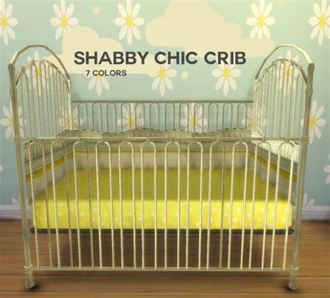 My Sims 4 Blog Ts3 Shabby Chic Crib Conversion By Boredsimblr Shabby Chic Crib