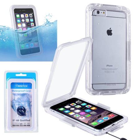 insten waterproof ip 68 certified shockproof dust proof touch screen cover for
