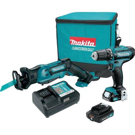 Bor Cordless Makita makita cordless drill reciprocating saw combo kit 12 volt max cxt lithium ion ebay