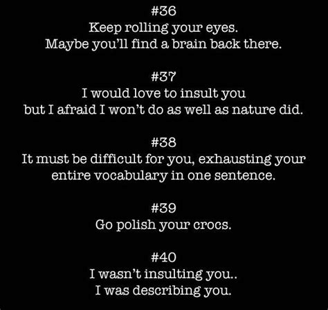 How To Compliment Or Insult A by M 225 S De 25 Ideas Incre 237 Bles Sobre Savage Insults En