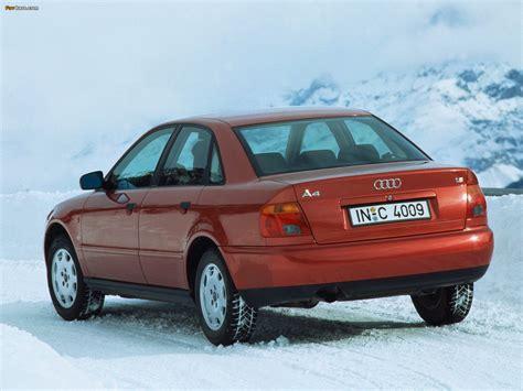 Audi A4 1994 by Audi A4 Sedan B5 8d 1994 1997 Pictures 1600x1200