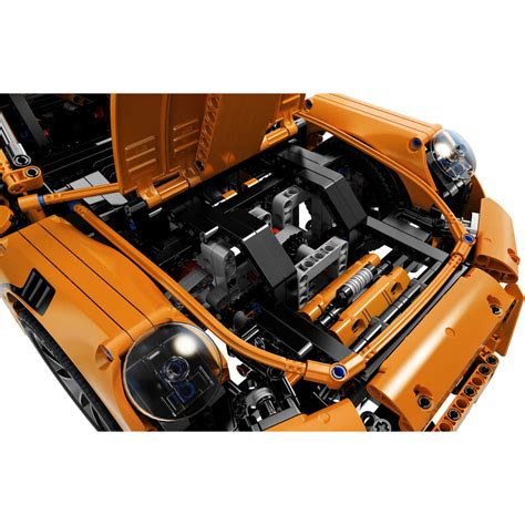 lego technic porsche engine lego technic porsche 911 gt3 rs 42056 big w