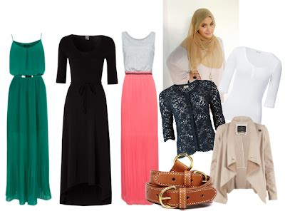 Tunik Zeeta By Dressup 4 Less cara pakai jilbab mix match busana muslim