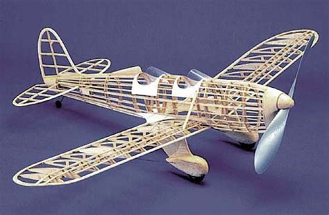 airplane rubber st st 104 herr balsa wood model airplane kit rubber powered
