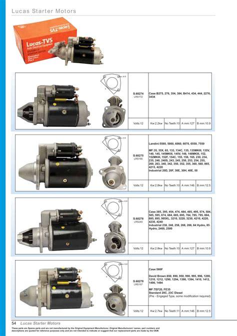lucas starter motor wiring diagram repair wiring scheme