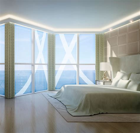 Curtains For Floor To Ceiling Windows Decor Inspiring Bedroom Curtains With Simplistic Models For Large Windows Design Aalso Cool Idolza