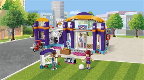 Amazon.com: LEGO Friends Heartlake Sports Centre 41312 ... E Bike Clipart