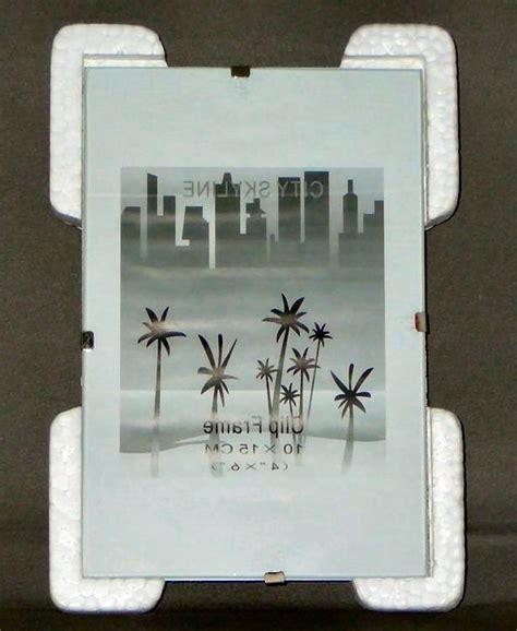 glass photo clip frames