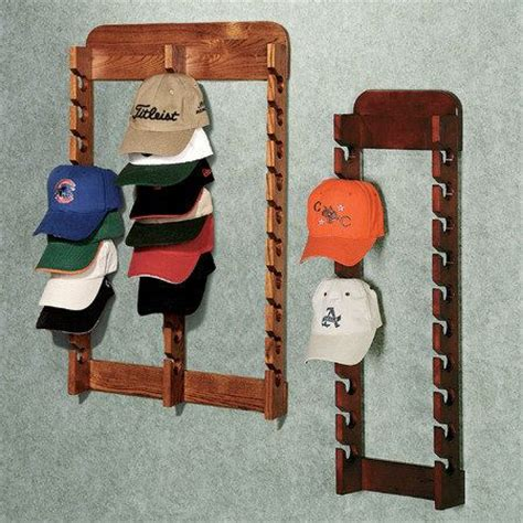 how to make a baseball hat rack woodworking projects plans