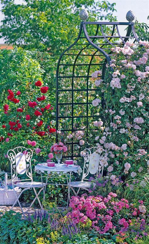 Rosengarten Gestalten by Gartenplanung Selbst De