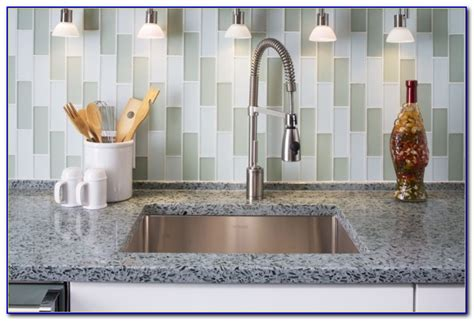 stick  backsplash tiles menards tiles home design