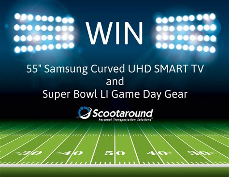 Super Bowl Giveaways - scootaround super bowl sweepstakes