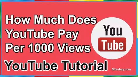 Adsense Youtube Pay Per View | how much does youtube pay per 1000 views how where can i