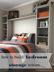how to build a bedroom storage tower system two make a home
