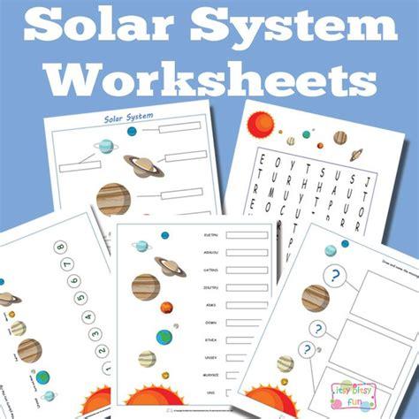 Preschool Solar System Worksheets by Best 25 Solar System Worksheets Ideas On