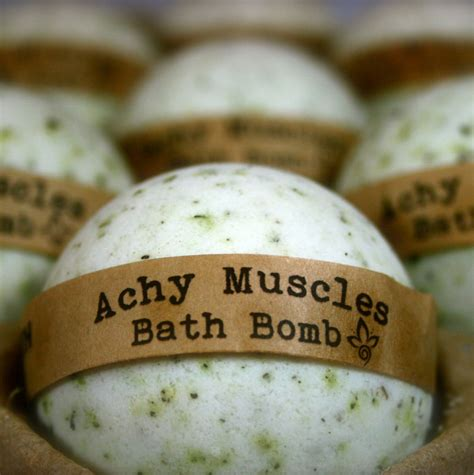 Achy Muscles Bath Bomb Aromatherapy Bath Bomb 1 All Natural