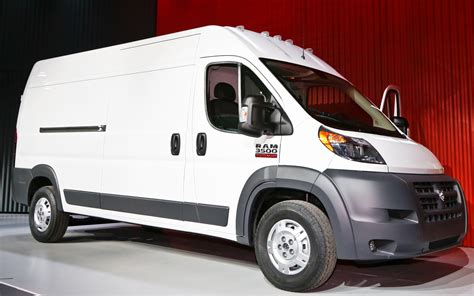 dodge commercial van 2014 ram promaster first look 2013 chicago auto show