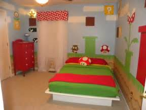 Mario Bedroom Cool Super Mario Kids Room Design Kidsomania