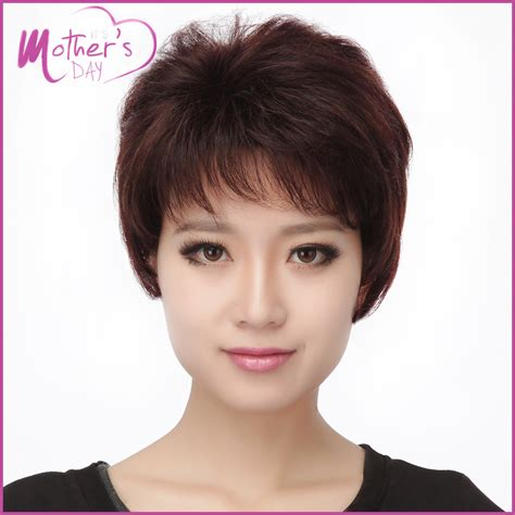 young morher haircuts 2015 real hair wigs young mother gift korean wigs hairstyles