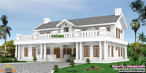 colonial luxury house plans october 2015 kerala home design and floor plans