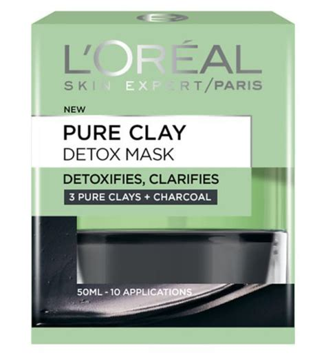L Oreal Clay Mask l oreal detox brighten mask clay mask reviews