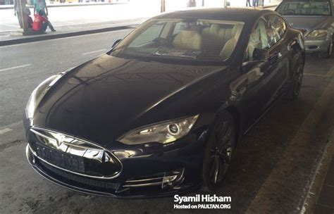 Motor Trade In Malaysia by Tesla Model S Spotted In Malaysia Grey Import
