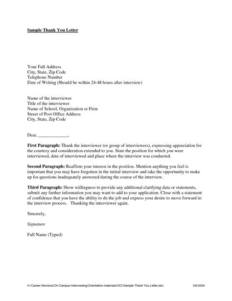 Thank You Letter After Questions best photos of phone template for employers