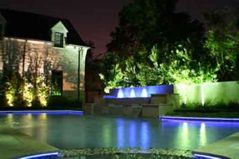 best picture of exotic and beautiful landscape and pool lighting system design and remodeling
