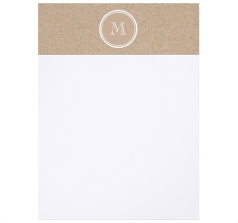 free printable monogram stationery personal letterhead template 18 free psd eps ai