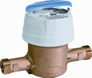 Water Meter Itron gereedschap meetinstrumenten watermeter itron watermeter itron aquadis 71950