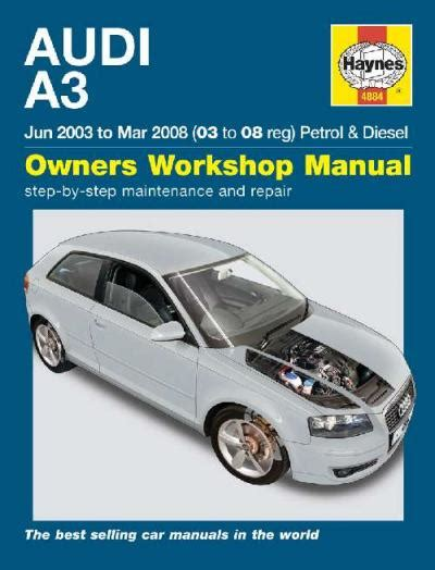 where to buy car manuals 2008 audi s8 electronic toll collection audi a3 petrol diesel 2003 2008 haynes service repair manual sagin workshop car manuals repair