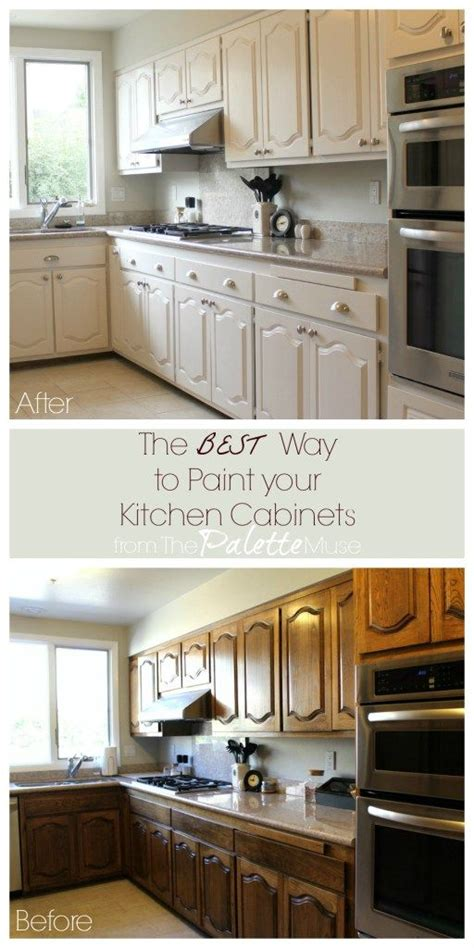the best way to paint cabinets the best way to paint kitchen cabinets