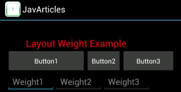 get layout weight android layout weight android exle
