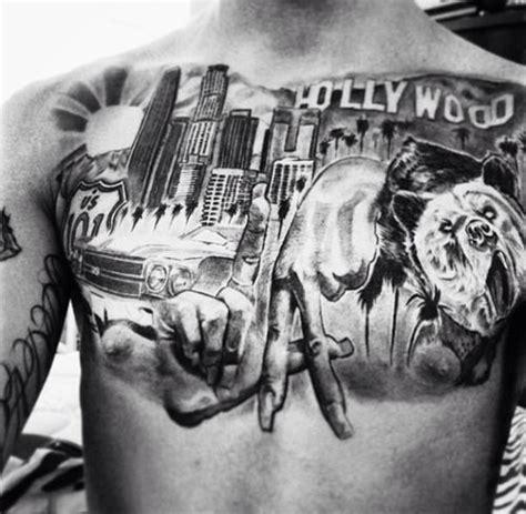 finger tattoo los angeles los angeles chest piece tattoo http 16tattoo com los