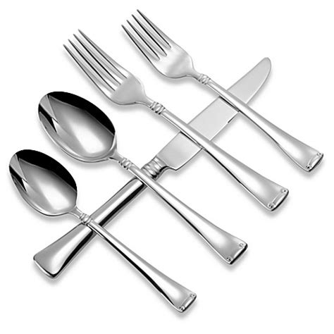 silverware bed bath and beyond zwilling j a henckels angelico 45 piece flatware set