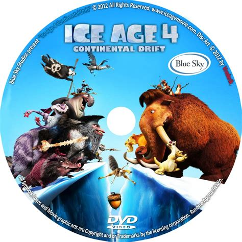 ice age 4 continental drift dvd the gallery for gt ice age 4 continental drift dvd cover