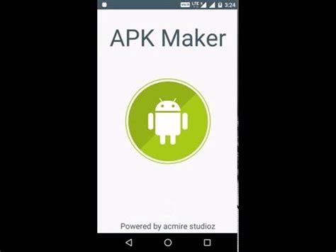 apk development apk maker developers tool