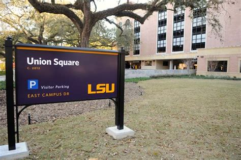 Lsu Union Square Parking Garage by Parking Directions Hotels Lsucle