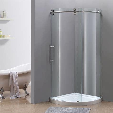 36 Inch Shower 36 Inch X 36 Inch Frameless Shower Enclosure In