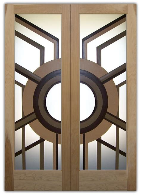sun odyssey  private etched glass doors modern design