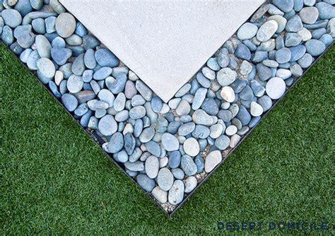 mexican beach pebbles landscape asphalt materials