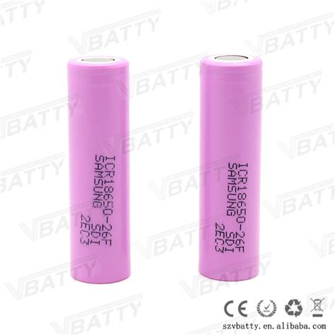 Baterai Samsung 18650 Ori Lithium Ion Cylindrical Battery 43v 28a 3 7v pink icr18650 lithium ion battery 2600mah samsung sdi icr18650 26f cell buy 18650 26f