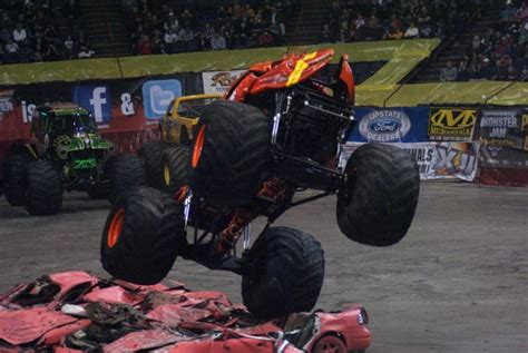 monster truck show albany ny albany new york monster jam january 21 2011